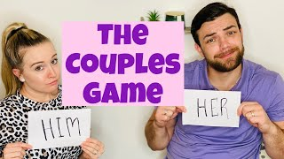 THE COUPLES GAME!