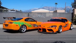 FAST & FURIOUS SUPRAS TOGETHER FOR THE FIRST TIME EVER!!!