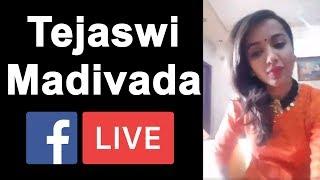 Tejaswi Madivada- Bigg Boss Telugu Season 2- Face Book Liv..
