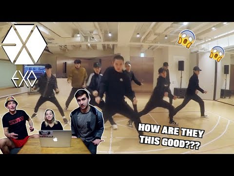 EXO 'Electric Kiss' Dance Practice (REACTION)