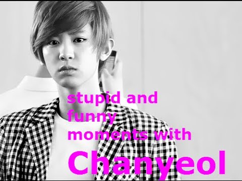EXO -Really stupid and funny moments with Chanyeol