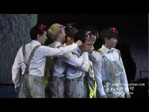 [掌心witheunhae] 120414 SS4 Shanghai 【 EunHae ~♥ 】 Do-Re-Mi Back Hugged !!!
