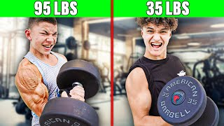Worlds Strongest 18 Year Old vs FaZe Clan - Strength Test