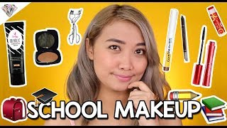 TIPID BACK TO SCHOOL MAKEUP   LAHAT LESS THAN PHP 250! FRESH MAKEUP LOOK FOR STUDENTS  