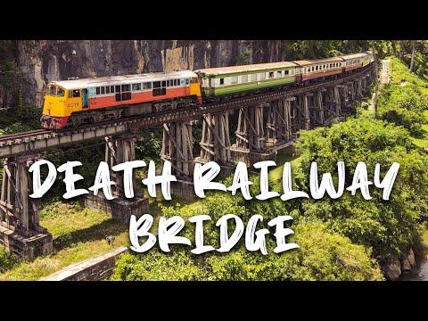 Death Railway Bridge in Kanchanaburi.