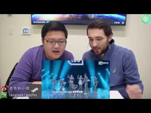 【歪果仁反应reaction】外国人看《偶像练习生 Idol Producer》主题曲Theme Song Ei Ei