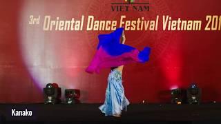 Kanako -Gala Show 3rd Oriental Dance Festival Viet Nam 2019