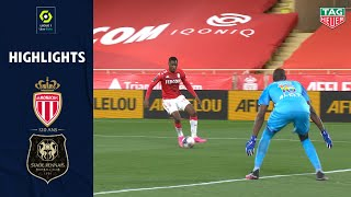 AS MONACO - STADE RENNAIS FC (2 - 1) - Highlights - (ASM - SRFC) / 2020--2021