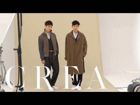 CREA2018年1月号 東方神起インタビュー Making movie