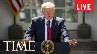 President Trump Gives News Conference At White House After Midterm Elections Results | LIVE | TIME