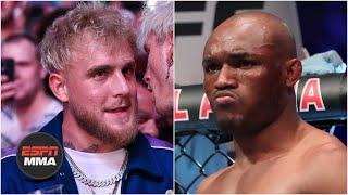 Kamaru Usman took Jake Paul's antics personally   ESPN MMA