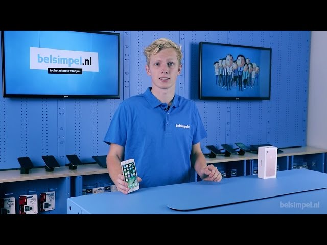 Belsimpel.nl-productvideo voor de Apple iPhone 7 32GB Gold
