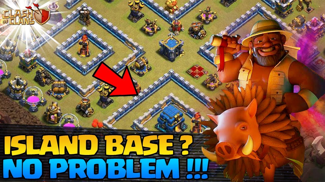 HOW TO 3 STAR TH12 ISLAND BASE* Best way to 3 Star Th12 Island Base - Easily 3 Star Th12 Island Base