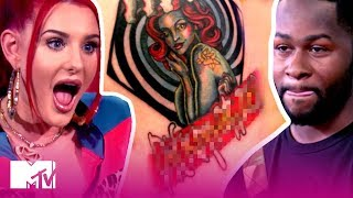 These Exes Get Petty & Personal w/ GIANT Tattoos   How Far Is Tattoo Far?   MTV