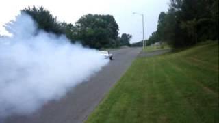 1981 Camaro burnout
