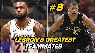 RANKING LeBron James' Best 15 Teammates Ever