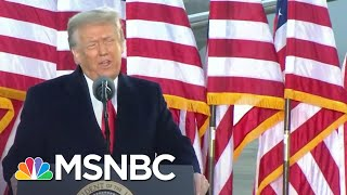 Joy: In Closing Remarks Trump Still 'Sees Himself As The Leader Of The Trump Movement' | MSNBC