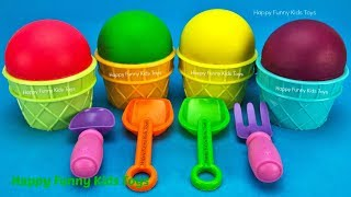 Play Doh Ice Cream Cups Surprise Toys Kinder Egg Disney Princess Chupa Chups Yowie Rumble Animal Jam