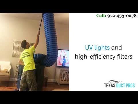 Air Duct Cleaning in Dallas | texasductpros.net | call 972-433-0278