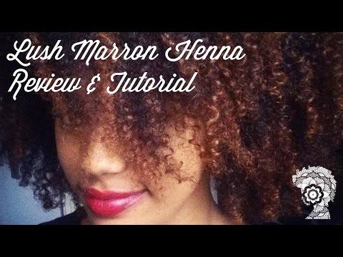 Lush Henna Dye Caca Marron Black 4b Hair Videomoviles Com