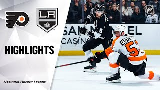 NHL Highlights | Flyers @ Kings 12/31/19
