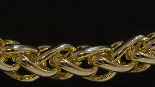 6mm, Stainless Steel Wheat Chain | Chains | King Ice