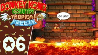 Donkey Kong Tropical Freeze (Switch) #6 FR - L'enfer du niveau 4-K