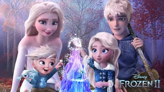 Frozen 2: Elsa and Jack Frost have a daughter and a son! And they both have magic! ❄💙Alice Edit!