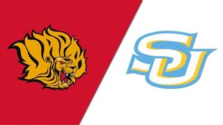 2021 SWAC Spring Football Arkansas Pine Bluff vs Southern