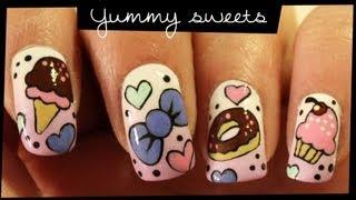 Yummy Sweets nail art