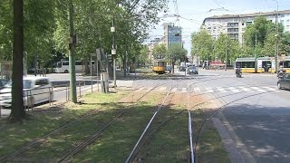 Milan Trams Driver's eye view preview