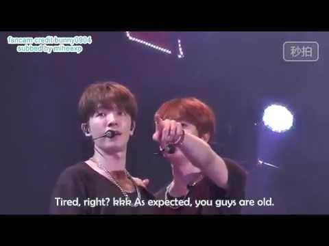 [ENG SUB] 150607 D&E Taipei - Eunhyuk collecting Donghae's Kiss