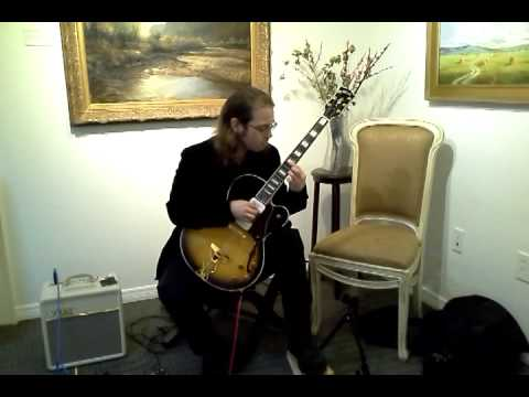 Romanza de Amor on electric classical guitar