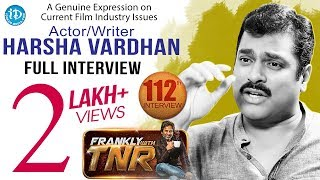 Frankly With TNR #112 - Current Topics (Casting Couch) With Harsha Vardhan - Full Interview