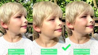 iPhone 11 vs. 11 Pro vs. 11 Pro Max Camera Comparison Test (S3-E4)