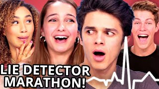 LIE DETECTOR FAIL Compilation - Brent Rivera, Lexi Rivera, Ben Azelart, Eva Gutowski & MORE!