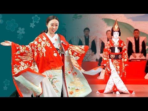 The SECRET to Wearing Luxurious KABUKI Costumes   3,000,000 Japanese Yen (sub)