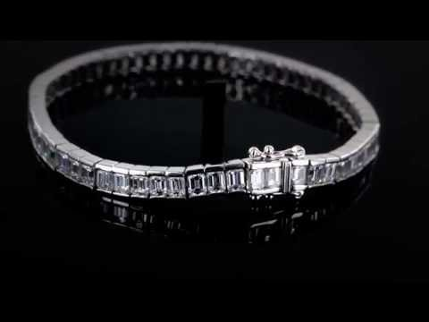 Browns Family Jewellers Channel Set Diamond Bracelet