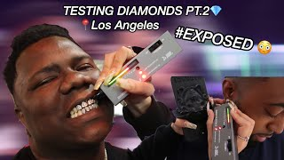 TESTING STRANGERS DIAMONDS PT.2| LOS ANGELES EDITION 😭💎