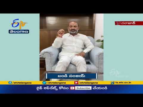 Bandi Sanjay condemns police raid on Teenmaar Mallanna's office
