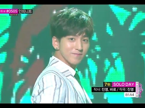 [HOT] B1A4 - SOLO DAY, 비원에이포 - 솔로데이, Show Music core 20140802
