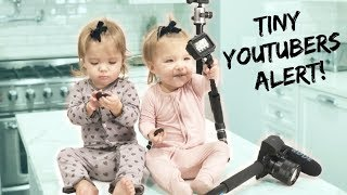 ONE YEAR OLD BABY VLOGGERS *SO FUNNY*