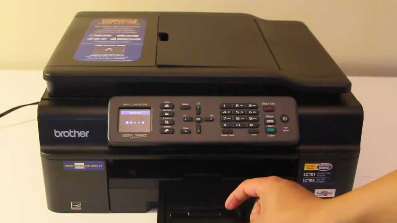 Brother Mfc J475dw All In One Printer Scanner Copier Fax