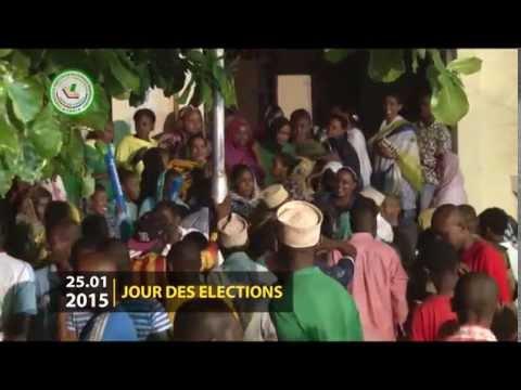 PACTE Comores - 1er Tour des Élections, reportage de la CENI