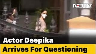 Drugs Probe: Bollywood actress Deepika Padukone arrives at..