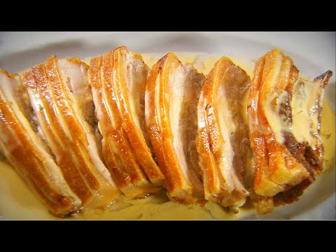 Marco Pierre White's Recipe for Pork Belly with Cider Cream Sauce
