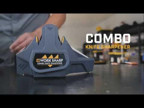 Work Sharp Combo Knife Sharpener, Model# WSCMB