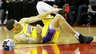 Does Lonzo Ball's injury impact the Lakers' plans to trade for Anthony Davis? | Jalen & Jacoby