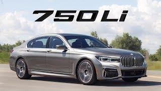 2020 BMW 750Li Review - Comfort Plus Big Grille
