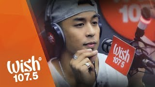 "Kris Lawrence performs ""Kung Malaya Lang Ako"" LIVE on Wish 107.5 Bus"